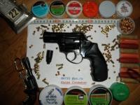 Револьвер стартовый, сигнальный Ekol Viper 2.5. Черный. (с дефектом)