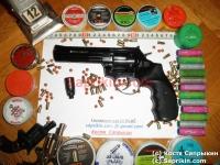 Револьвер стартовый, сигнальный Ekol Viper 4.5. Черный.